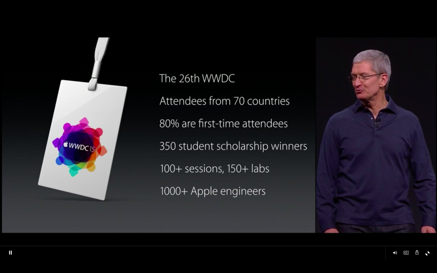 The Best Slides Charts And Factoids From Apple S Wwdc 2015 Keynote Macworld
