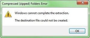 0825 error message