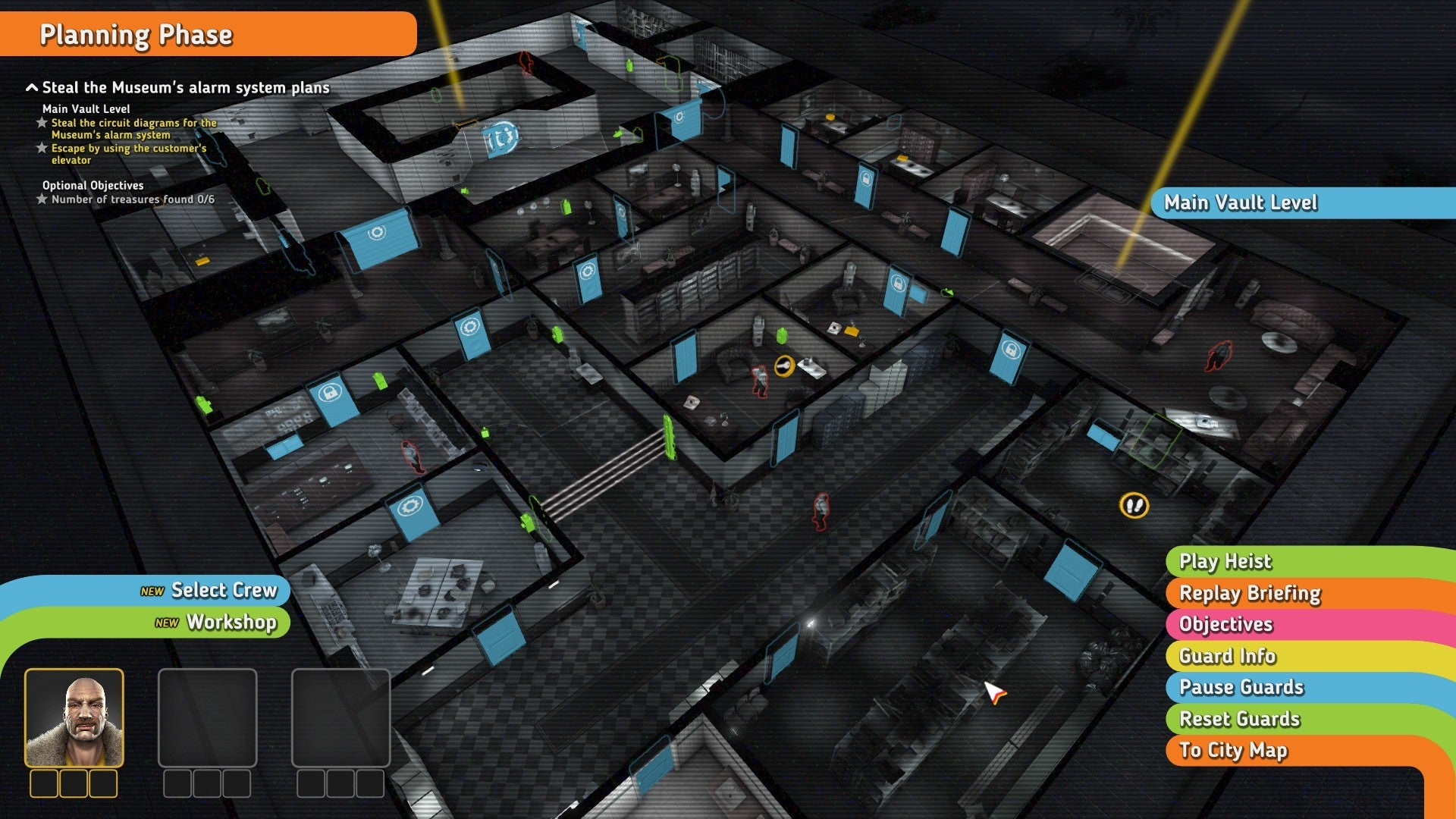 Hands On Crookzs Complex Heists Will Transform You Into A Bank Circuit Diagram Game Crookz