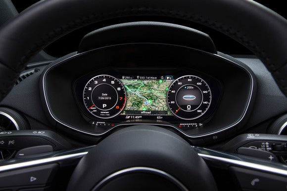 2016 audi tt virtual cockpit classic view1