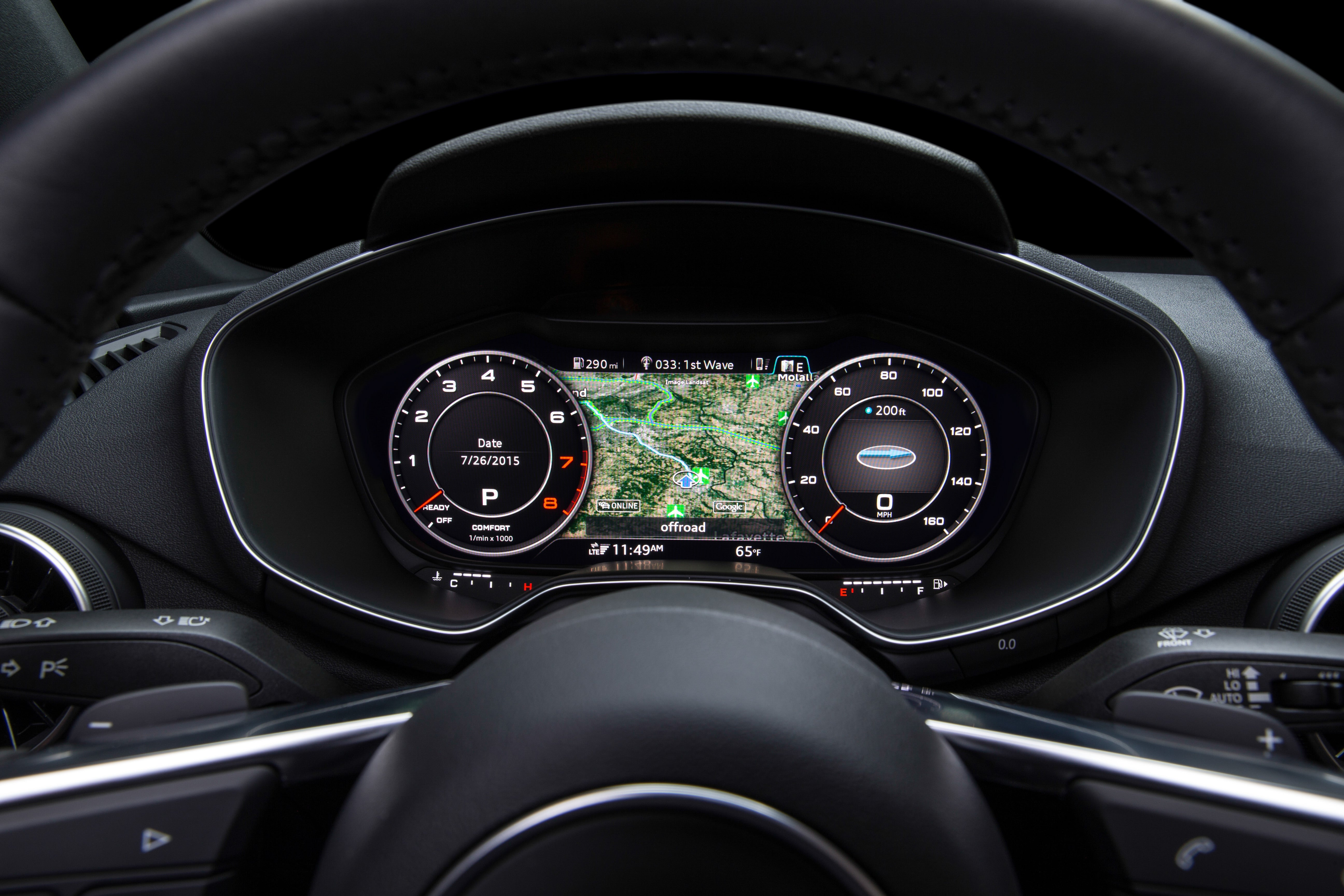 9 Views Of The All Digital Virtual Cockpit In The 2016 Audi Tt Pcworld
