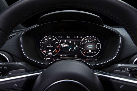 2016 audi tt virtual cockpit classic view2