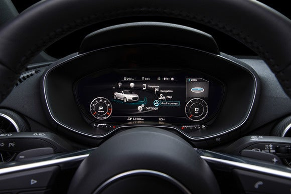 2016 audi tt virtual cockpit infotainment view3
