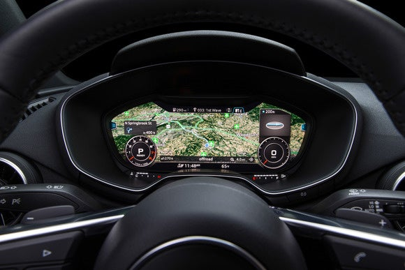 2016 audi tt virtual cockpit infotainment view4