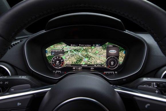 2016 audi tt virtual cockpit infotainment view4