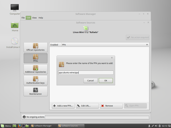 add ppa to linux mint