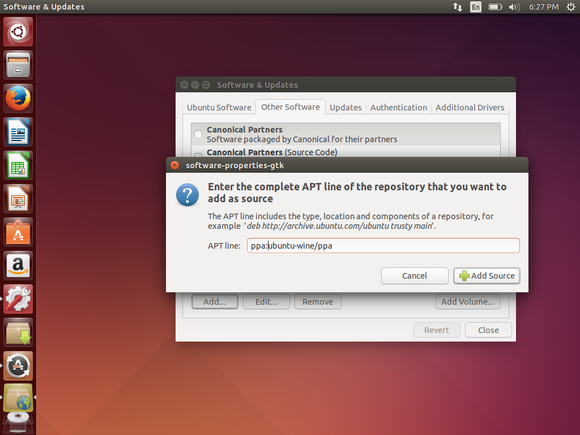 add ppa to ubuntu