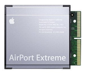 airport extreme card