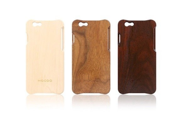 alexcious wooden iphone