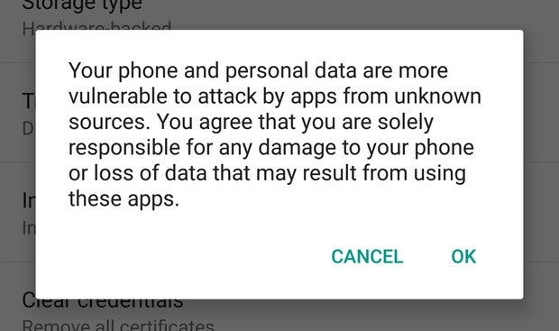 android dos donts apks