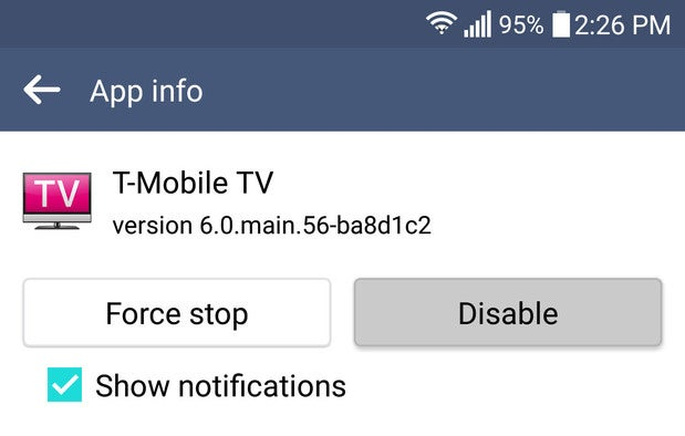android dos donts disable