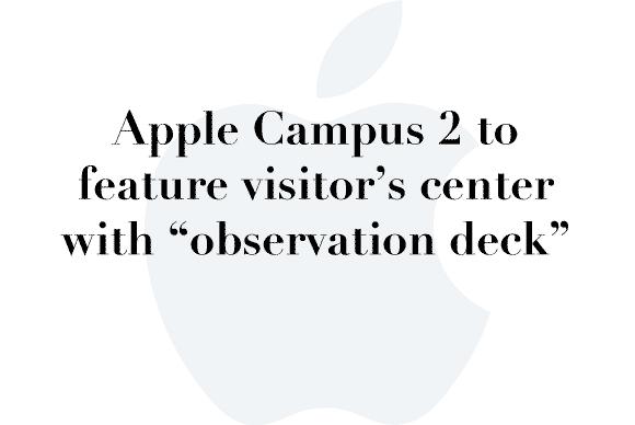 apple campus deck