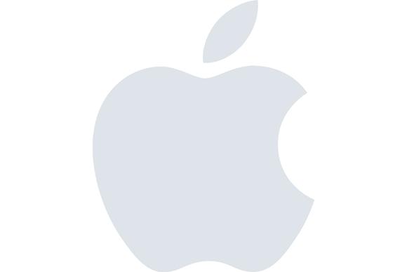 apple logo news slide background