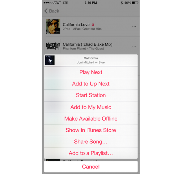apple music ios add playlist