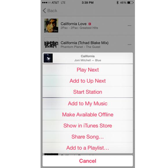 apple music ios add playlist
