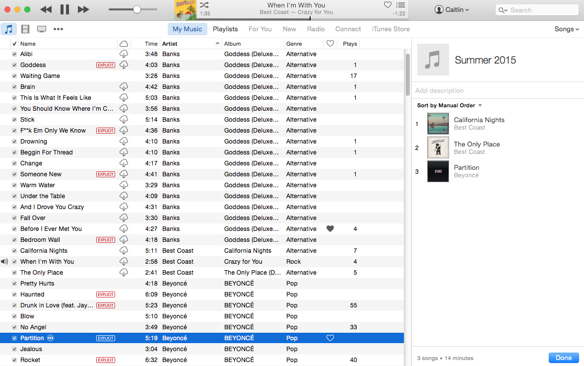 How to make an apple music playlist in itunes or on ios macworld you can drag and drop tracks from your apple music library into a playlist if theyre already saved buycottarizona