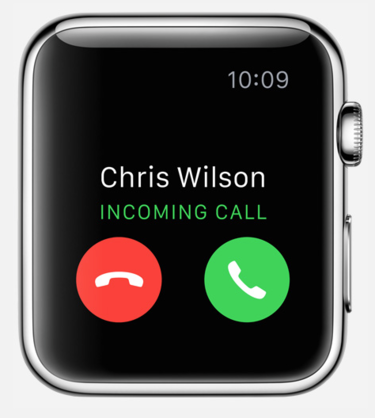 apple watch phone calls