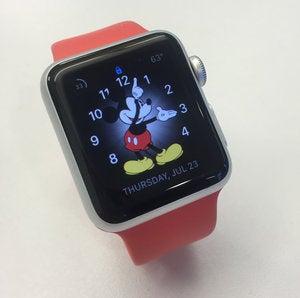 apple watch leah