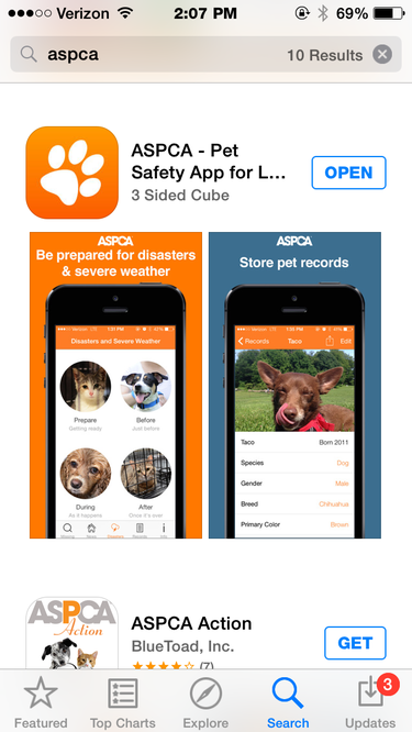 aspca pet app
