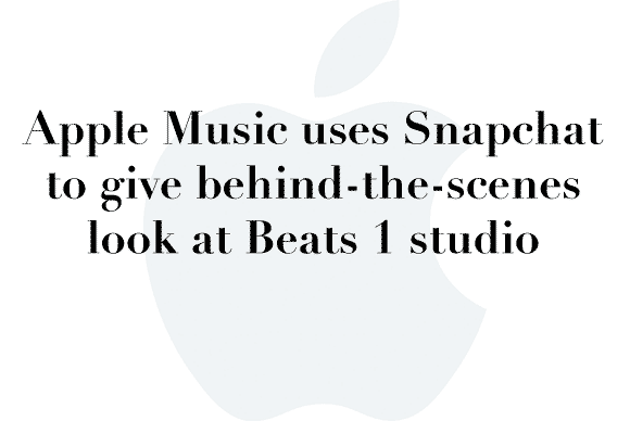 beats 1 snapchat