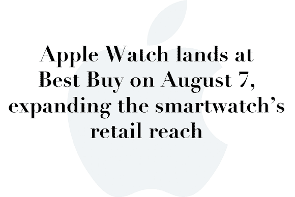 best buy apple watch
