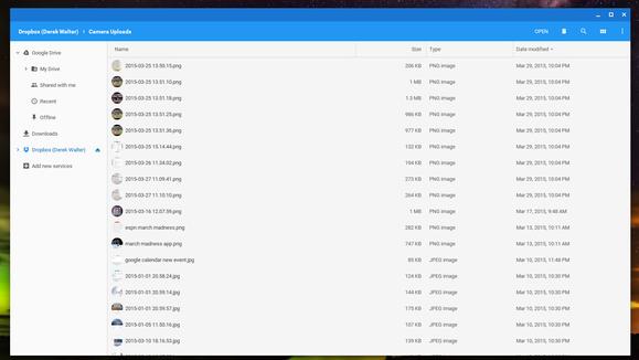 chrome file menu
