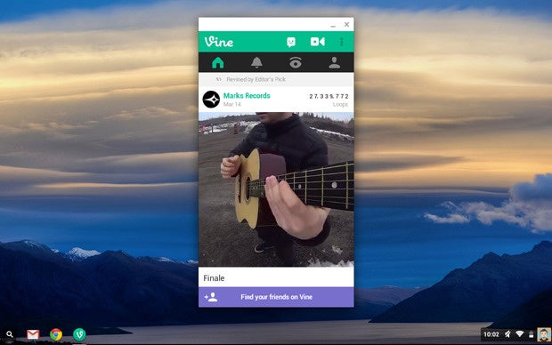 Chrome OS Android Apps: Vine