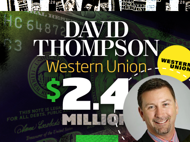 David Thompson Western Union Company