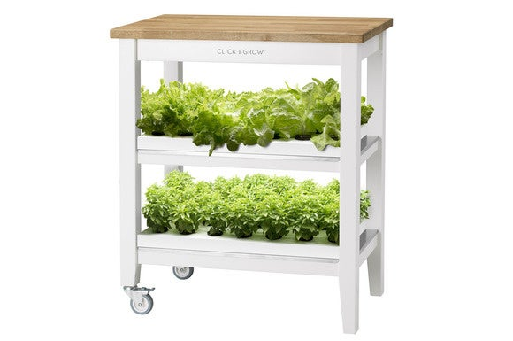 grow your own veggies in your apartment with the robot garden. Black Bedroom Furniture Sets. Home Design Ideas