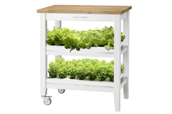 grow your own veggies in your apartment with the robot garden techhive. Black Bedroom Furniture Sets. Home Design Ideas