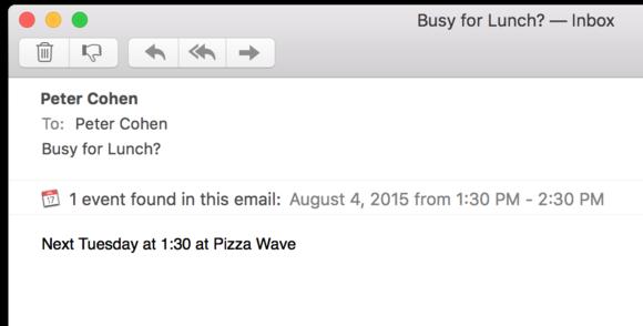 el cap mail event