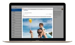 el capitan apple mail tabbed compose macbook