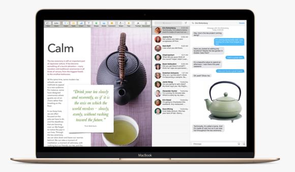 el capitan split screen macbook