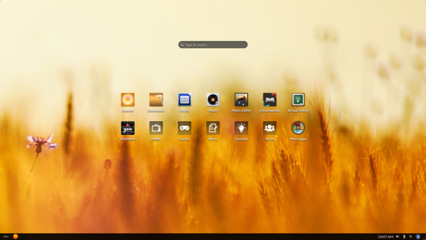 endless os desktop en