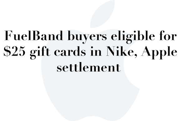 fuelband settlement