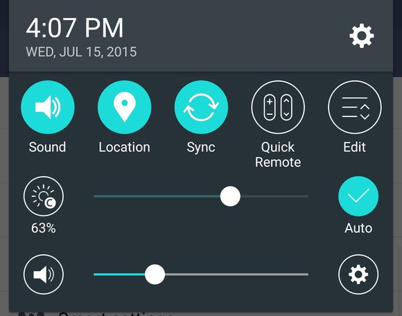 g4 tips notification panel