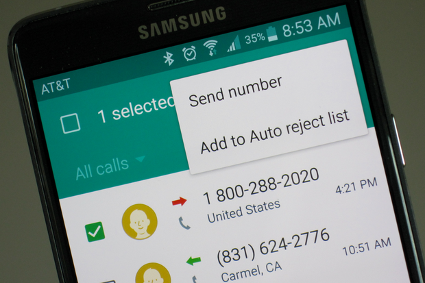 How To Block A Phone Number On Your Android Phone Greenbot