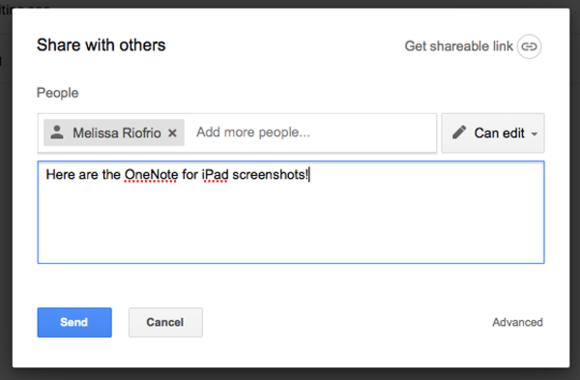 google drive folder sharing