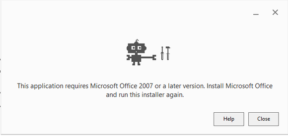google drive in office error