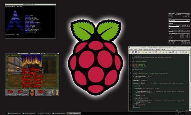 ArchLinux Openbox desktop