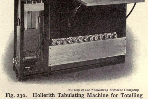 hollerith tabulating machine