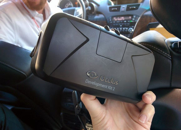 honda virtual reality in car oculus rift dk2