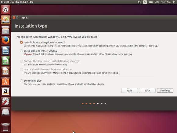 install ubuntu alongside windows