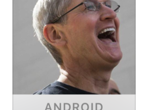 ios 9 beta 3 tim cook laughs at android