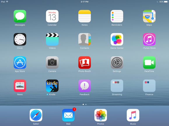 ios 9 ipad 3 primary