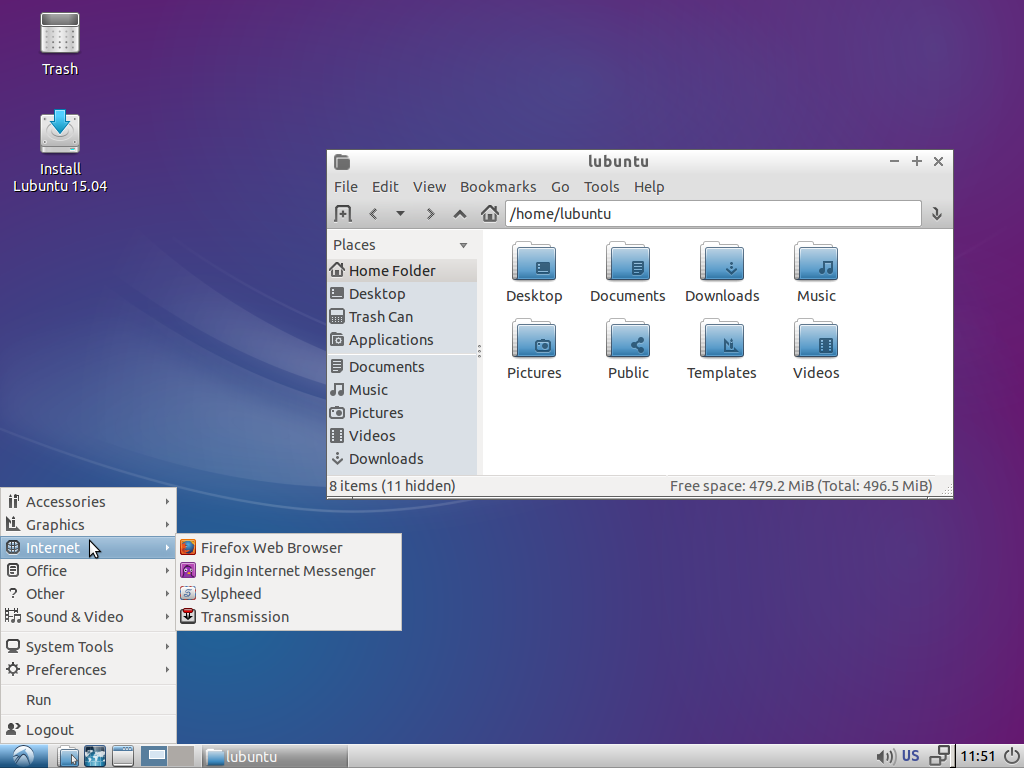 lubuntu ideal for old pcs 1: try lubuntu - a light weight ubuntu distro : lubuntu | lightweight, fast, easier or 2: bodhi linux : bodhi linux both can run on very low memory computers: check the link for detail.