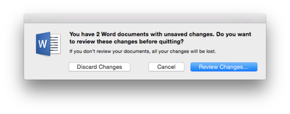 Word for Mac 2016