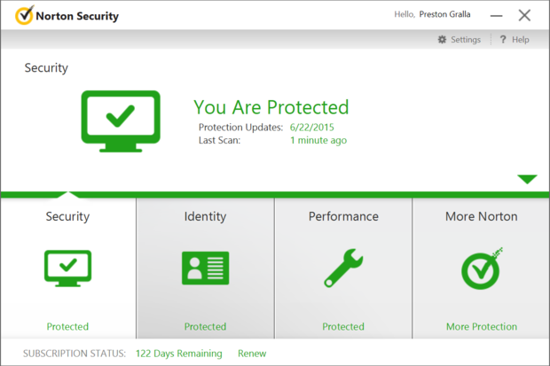 Review Norton Security Simpler And Still A Winner