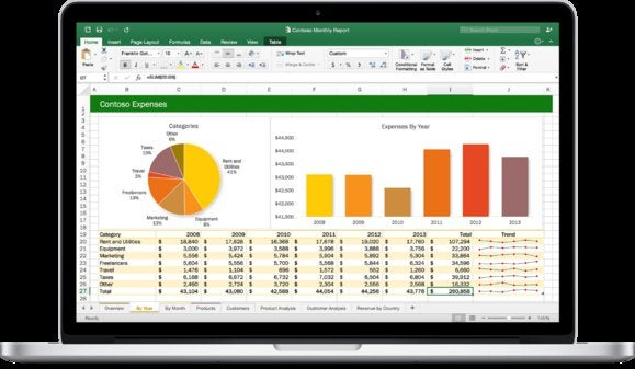 office 2016 for mac excel