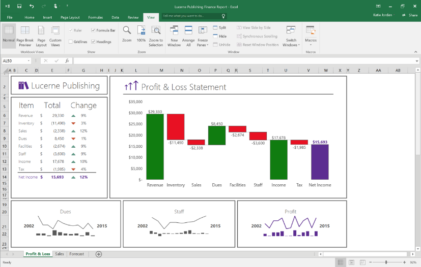 Real time updating in excel